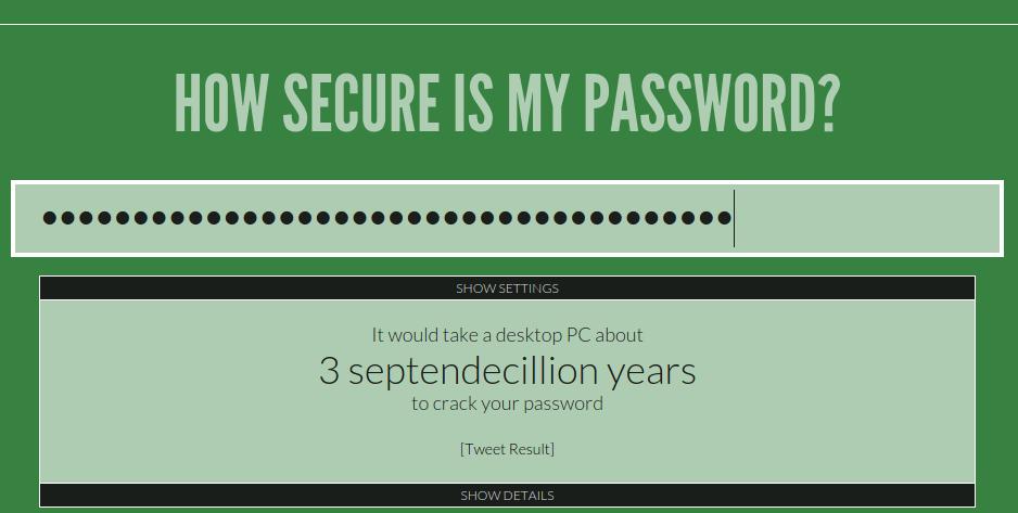 WP Password Security